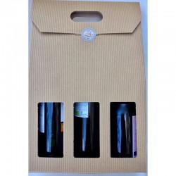 GRATUIT - Coffret cadeau 3 bouteilles