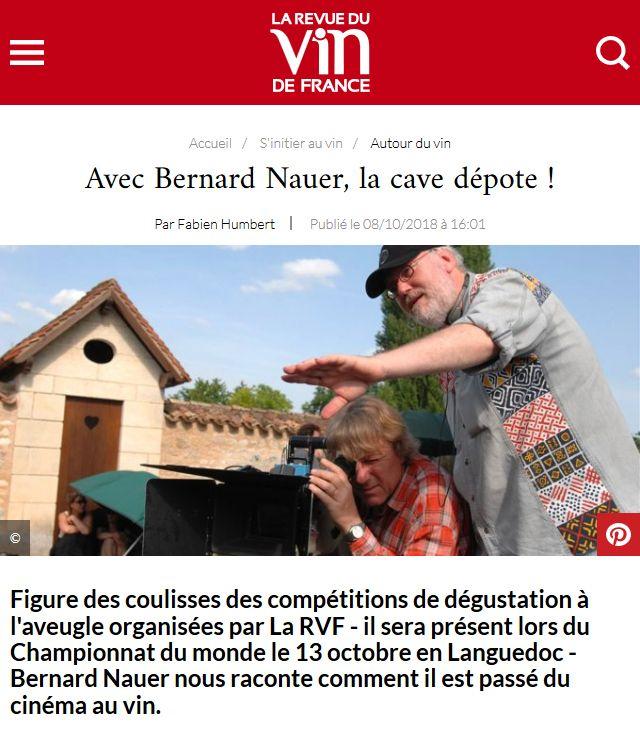 Article en ligne - Revue du Vin de France