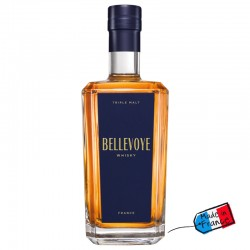 WHISKY - BELLEVOYE Triple Malt 40° (étiquette bleue)