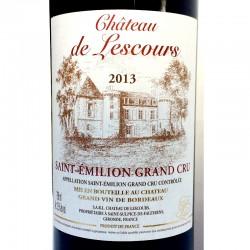 SAINT-EMILION Grand Cru Château de Lescours 2013