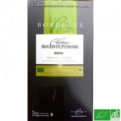 BORDEAUX BIB 3L Château Moulin de Peyronin Blanc  sec 2017