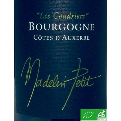BOURGOGNE Côtes d'Auxerre Les Coudriers Chardonnay 2015 Domaine Madelin-Petit