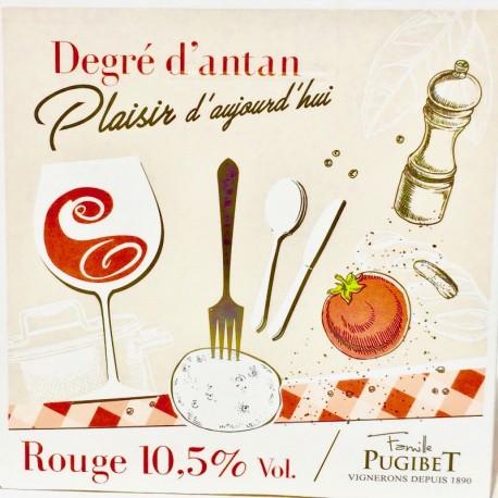 LANGUEDOC Rouge IGP Pays de l'Hérault  Dom. La Colombette  5L  2018