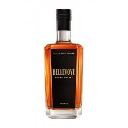 WHISKY - BELLEVOYE Triple Malt Tourbé 43° (étiquette noire)