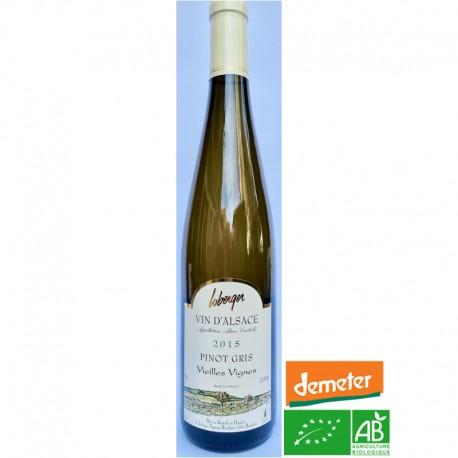 ALSACE Domaine Loberger Pinot Gris Vieilles Vignes 2015