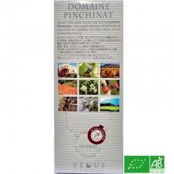 PROVENCE Vin de Pays du Var Domaine Pinchinat Vénus rosé 2019 BIB 3L