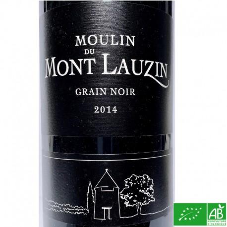 SUD-OUEST IGP COMTÉ TOLOSAN Moulin du MontLauzin Grain Noir 2014