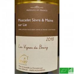MUSCADET Sèvres et Maine sur Lie Julien Braud Les Vignes du Bpurg 2018