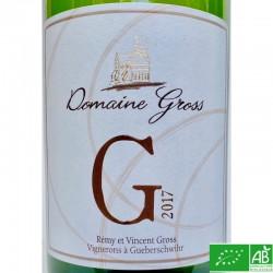 ALSACE Domaine Gross cuvée G 2017