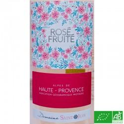 PROVENCE IGP Alpes de Haute-Provence Château Saint-Jean Lez Durance Les Platanes Rosé Fuité 2019