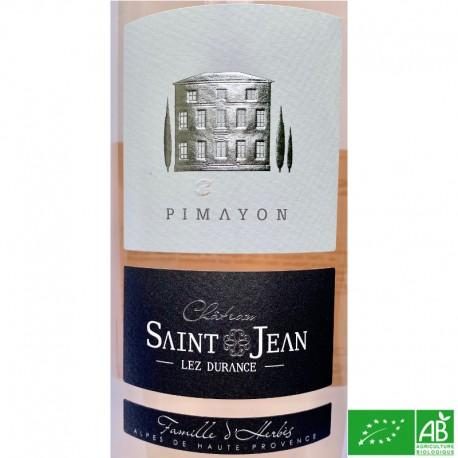 PROVENCE Pierrevert Château Saint-Jean Lez Durance Pimayon 2019