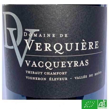 VACQUEYRAS Domaine de Verquière 2018