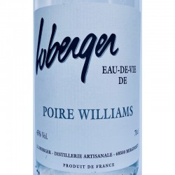 ALSACE Eau de Vie Poire Williams Domaine Loberger