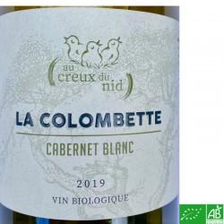 LANGUEDOC Dom. La Colombette Au Creux du Nid Cabernet Blanc 2019