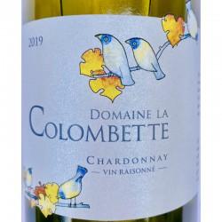 LANGUEDOC IGP Pays de l'Hérault Domaine de la Colombette Chardonnay 2019 Vin Raisonné