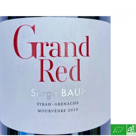 Côtes du Roussillon Mas Baux Grand Red 2019
