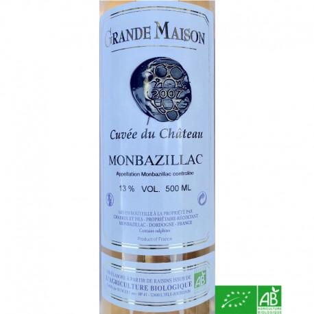 MONBAZILLAC Domaine Grande Maison Cuvée du Château 2007 50cl