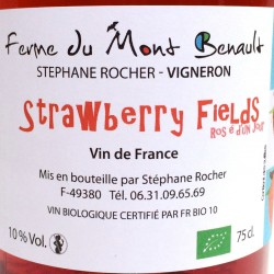 LOIRE Strawberry fields Stéphane Rocher Vin de France Gamay 2019